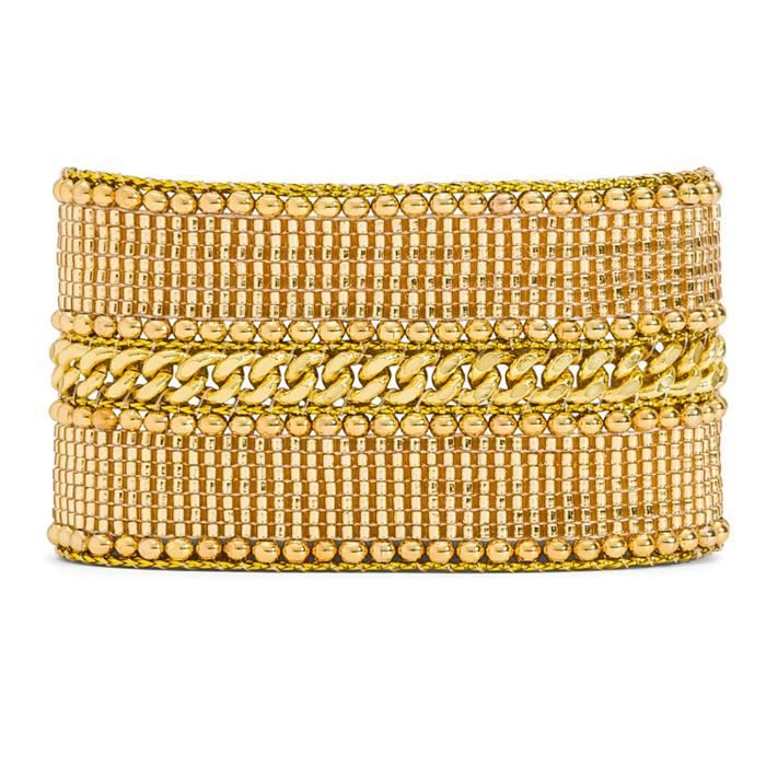 Bracelet Hipanema Galate Gold taille S