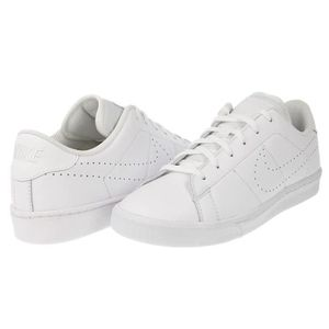 hot sales 588ac e2491 8341  BASKET Baskets Nike Tennis Classic Premium Blanches.