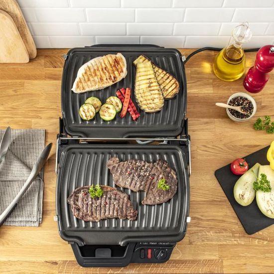 Grille-viande électrique Ultra Compact Heatlh Tefal GC305012, imychic