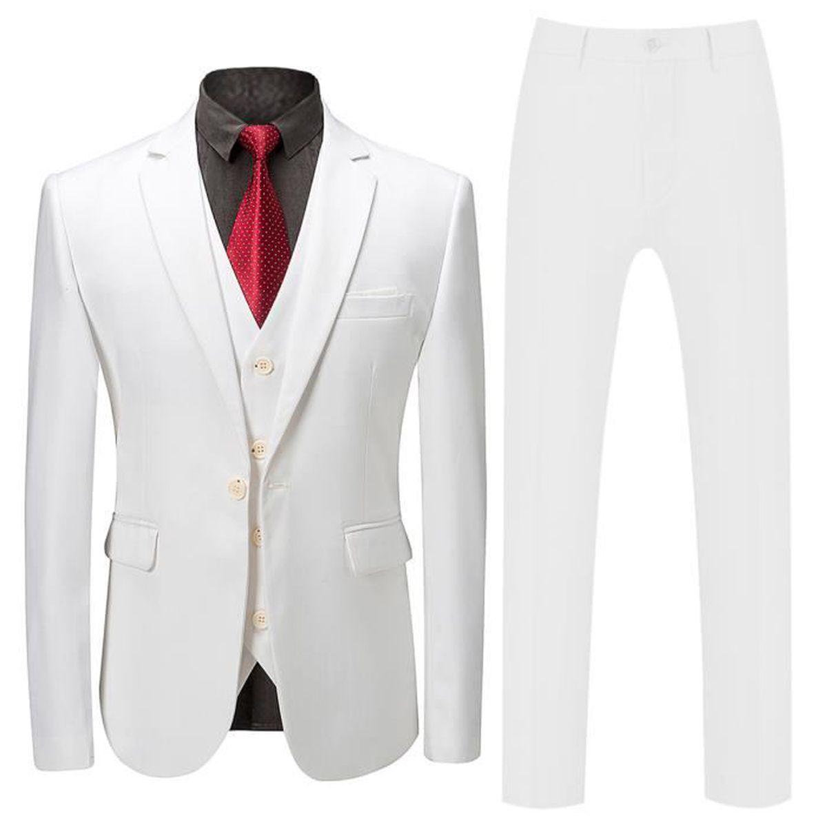 COSTUME - TAILLEUR Costume homme mariage 3 pieces vintage Cérémonie S
