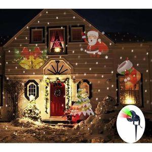 PROJECTEUR LASER NOËL LED laser étoile de Noël jardin pelouse lumière pr