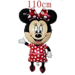 BALLON DÉCORATIF  1PC 110CM Mickey Minnie Ballon Fête d'anniversaire