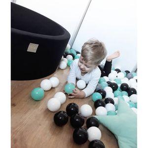 PISCINE À BALLES Piscine à Balles 30cm + 200 balles pour Enfants Bé
