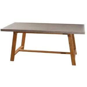 TABLE À MANGER SEULE MONACO Table à manger 6 à 8 personnes style contem