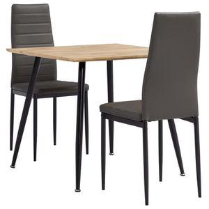 CHAISE Ensemble Table à Manger de 2 Personnes Scandinave