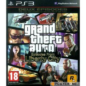 JEU PS3 GTA 4 : Episodes of Liberty City : Playstation 3 ,
