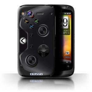 COQUE - BUMPER Coque de Stuff4 / Coque pour HTC Desire S / Xbox O
