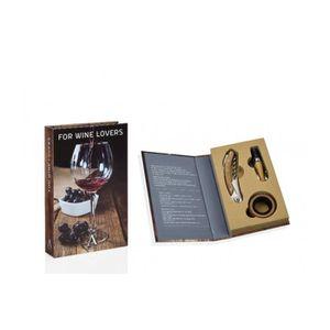 COFFRET SOMMELIER Coffret Cadeau Sommelier - Set de 3 Accessoires Vi