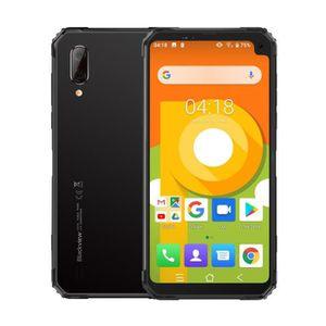 """Achat Téléphone portable Blackview BV6100 6.88"""" Smartphone 3GB + 16GB 4G Écran 18:9FHD 8MP Android 9.0 Argent pas cher"""