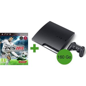 PLAYSTATION 3 CONSOLE PS3 160 Go + PES 2013