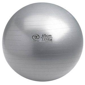 Lot de 2 x ballon gymnastique balle 65CM gris exercice suisse yoga fitness grossesse naissance blessure