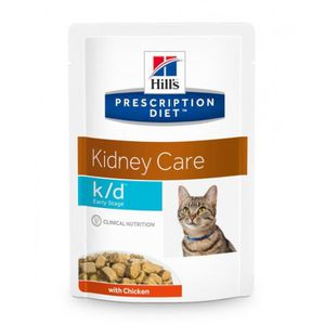 CROQUETTES HILL'S Prescription Diet chat - k/d Early stage sa