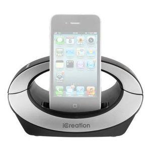STATION D'ACCUEIL iCreation i350 Station d'accueil pour iPhone avec