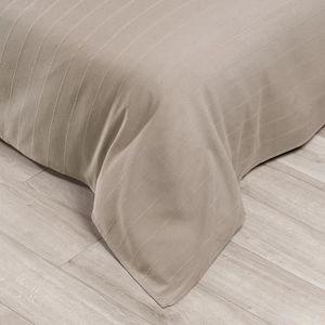 COUVERTURE - PLAID Jeté de canapé uni Lizzy cement 180 x 250 cm Les A