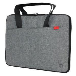 SACOCHE INFORMATIQUE Mobilis Sacoche - Trendy Sleeve - 14'' - Gris