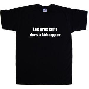 T-Shirt Les gros sont durs à kid - Achat