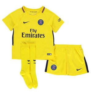 MAILLOT DE FOOTBALL Nouveau Mini-Kit Enfant Nike Away PSG Paris Saint-