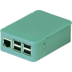 BOITIER PC  Boîtier Raspberry Pi® vert D4062105 Raspberry Pi®