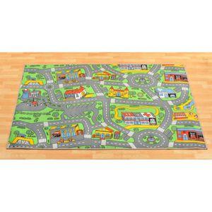 TAPIS DE JEU Tapis de jeux - Trafic - Tapis Circuit - 0,95m ...