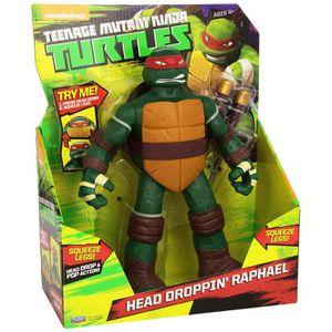 FIGURINE - PERSONNAGE Teenage Mutant Ninja Turtles Raphael Head Tortues