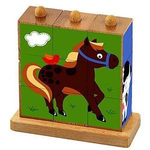 PUZZLE Viga Animaux de la ferme » Stack Puzzle WKGJH