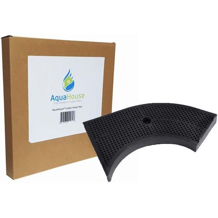 AquaHouse Filtre à charbon actif Compatible avec hotte Whirlpool AKR441 AKR442 AKR443 HOOA00S AKR441WH AKR441IX, Wpro AMC859 filtre
