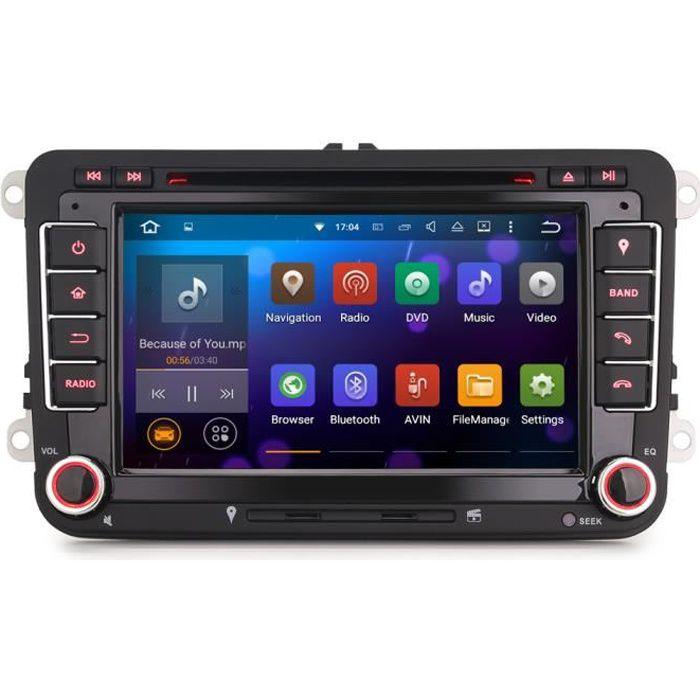 Autoradio GPS Volkswagen Android Eos,Golf 5 & 6, Caddy, Scirocco, Polo, Tiguan