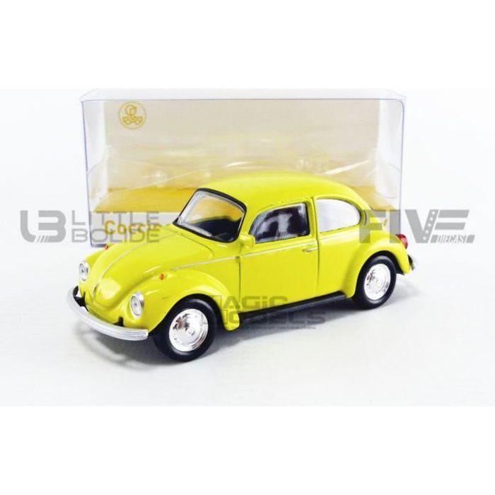 Voiture Miniature de Collection - NOREV 1/43 - VOLKSWAGEN 1303 - 1973 - Jaune - 841001