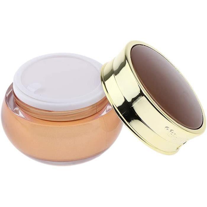 Flacons et pots de voyage Fenteer Pot Cosmétique Vides Flacon Maquillage en Acrylique Bouteilles Voyage pour Visage Loti 43352