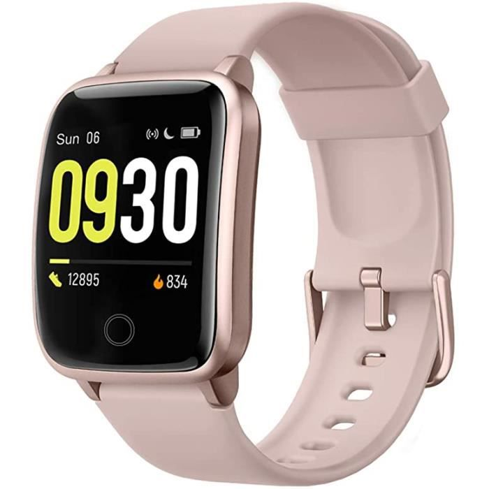 Willful Smart Watch for Men Women 2020 Version IP68 Waterproof, Fitness Tracker Heart Rate Monitor Sport Digital Watch, Smartwatch f