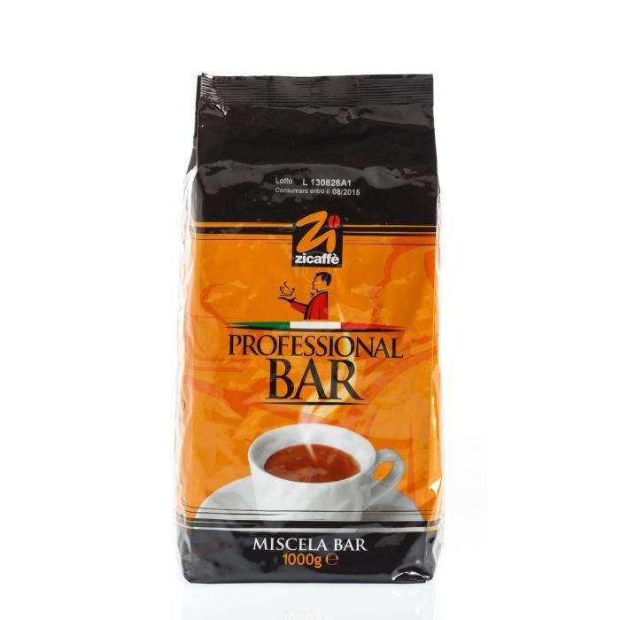 Zicaffe Professional Bar, 1kg, grains d'espresso