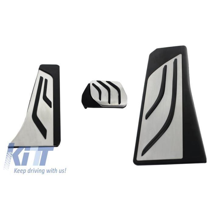 Kit de Pédales Pedal COUVRES PEDALES Pour BMW Série 5 F10 6 Série F13 X3 F25 X4 F26 Automatique