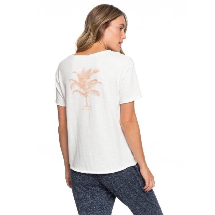 T-Shirt Star Solar A de la marque Roxy Femme en Blanc [L]