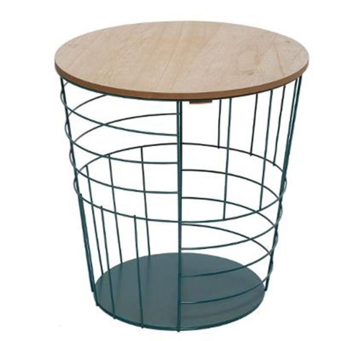 Table d'Appoint Design -Kumi Pop- 38cm Bleu
