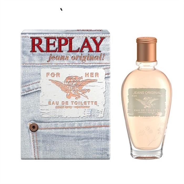 REPLAY Jeans Original For her Eau de toilette Vapo - 60 ml