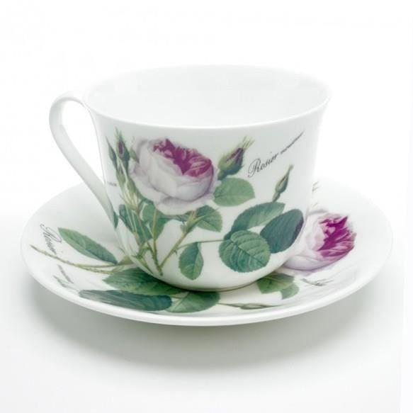 Tasse à thé/déjeuner Redouté