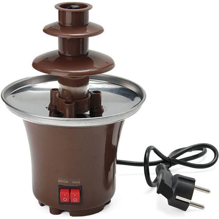 Fontaine à Chocolat Electrique 250W à 3 niveaux