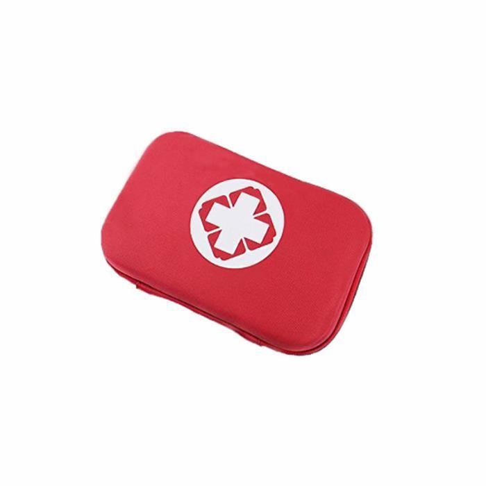 Extra Large Multi Usage Marron Fermeture Éclair Sac avec Clip-Premiers Secours Survie Kits