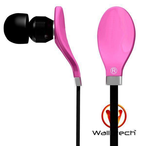 couteurs intra auriculaires rose wallytech casque. Black Bedroom Furniture Sets. Home Design Ideas