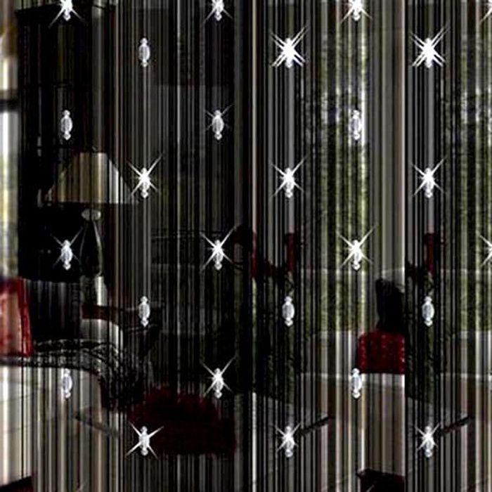 RIDEAU DE PORTE Décoration à la maison perle de rideau de porte en