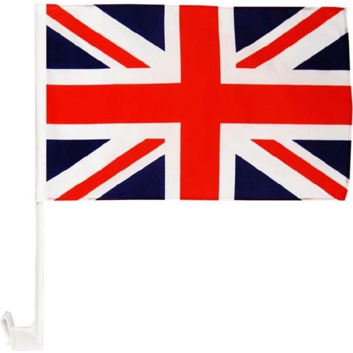 Carflag Anglais 30 x 45 cm AZ FLAG Drapeau de Voiture Guernesey 45x30cm