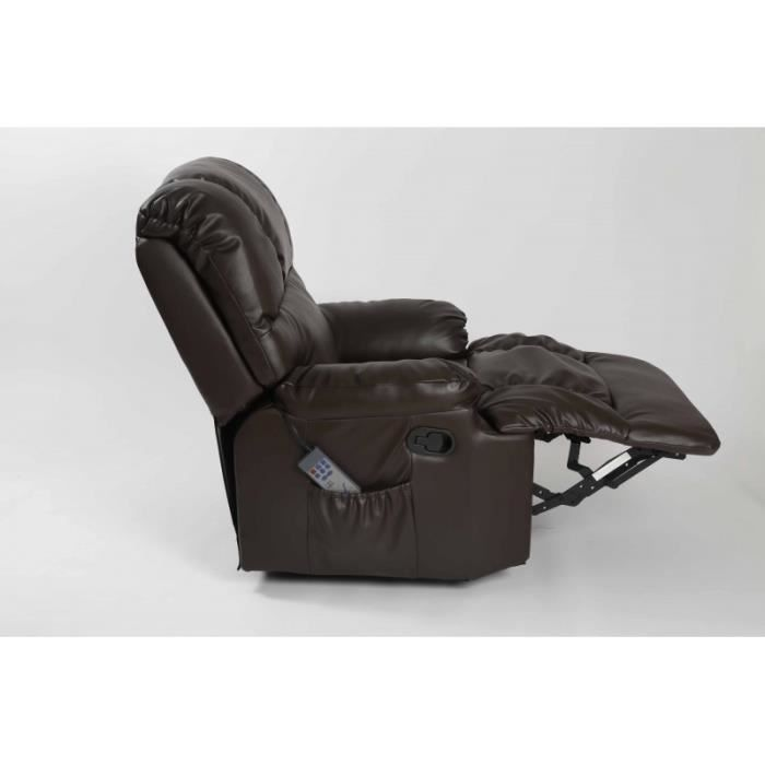 fauteuil de massage couleur noir achat vente fauteuil. Black Bedroom Furniture Sets. Home Design Ideas