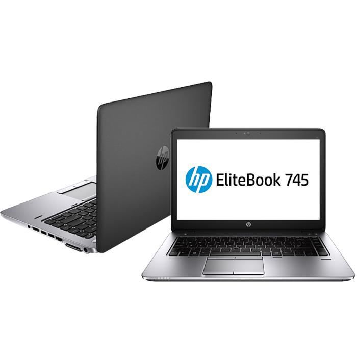 hp elitebook 745 amd a8 pro 8 go 128 go ssd prix pas cher cdiscount. Black Bedroom Furniture Sets. Home Design Ideas