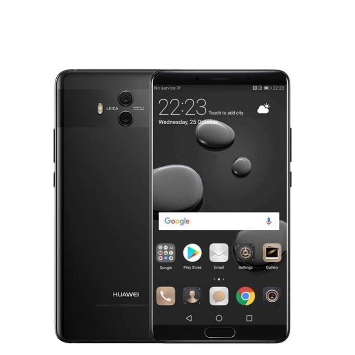 "SMARTPHONE HUAWEI Mate 10 5.9"" Android 8.0 64Go Noir"