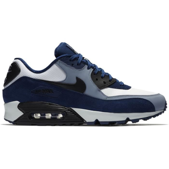 buy popular classic fit good NIKE Air Max 90 Cuir Chaussure de course hommes 1WB54K Taille-M ...