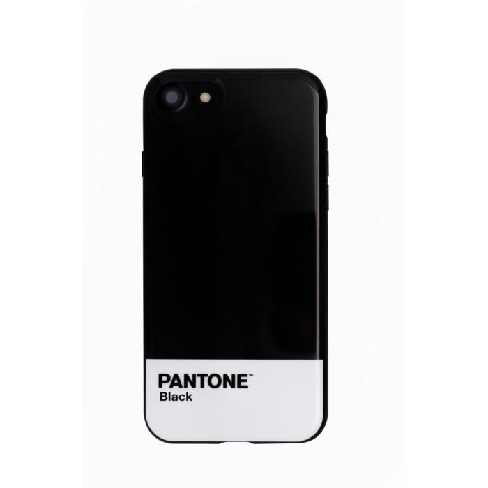 pantone coque pour iphone 7 metal noir