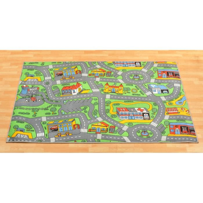 tapis de jeux trafic tapis circuit 0 95m achat vente tapis de jeu cdiscount. Black Bedroom Furniture Sets. Home Design Ideas