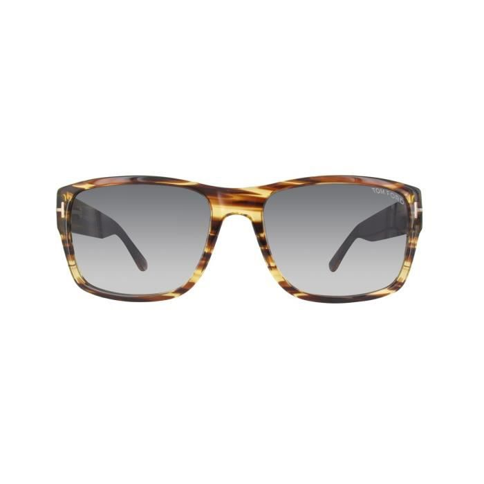 Lunettes de soleil homme TOM FORD FT0445 DARK BROWN OTHER GRADIENT SMOKE 05f724d1db2d