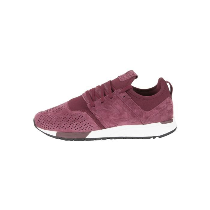 New Balance Homme 247 Formateurs, Rouge