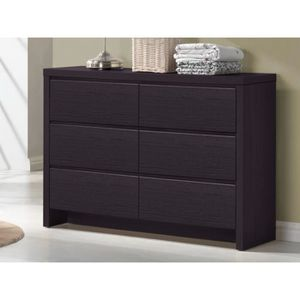 commode couleur wenge achat vente pas cher. Black Bedroom Furniture Sets. Home Design Ideas